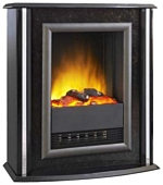 kamin-Real-flame-Puccini-black