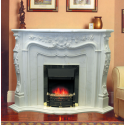 kamin-Real-flame-Marseille-marble