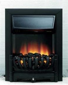 kamin-Real-flame-Lexus-black