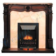 kamin-Real-flame-Lamont-Sonnet-black