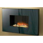 kamin-Real-flame-Corello-black