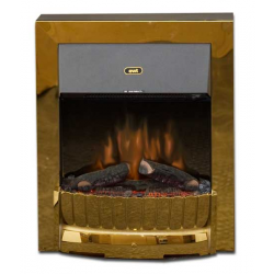 kamin-Real-flame-Clement-brass