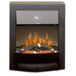 kamin-Real-flame-Clement-black