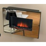 kamin-Real-flame-Corello-mirror