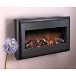 kamin-Real-flame-Alto-black