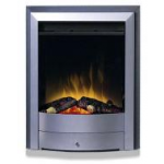 kamin-Real-flame-X1-silver